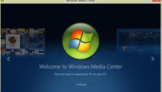 Microsoft sends Media Center packing, sort of