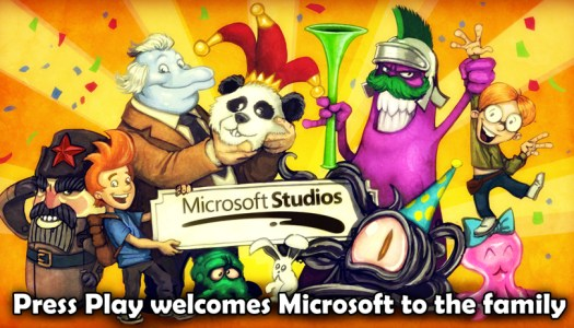 Microsoft acquires mobile developer PressPlay