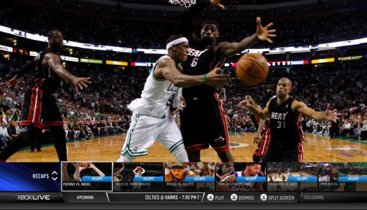 Xbox LIVE users score NBA Game Time app