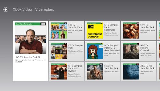 Xbox Debuts TV Samplers