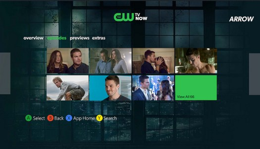 The CW arrives with Official Xbox LIVE App