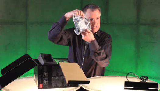 Microsoft's Major Nelson Unboxes Xbox One