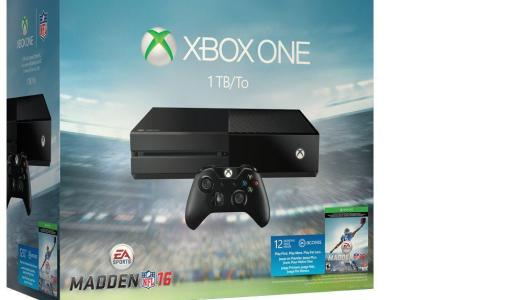 Microsoft reveals Madden 16 Xbox One bundle for August