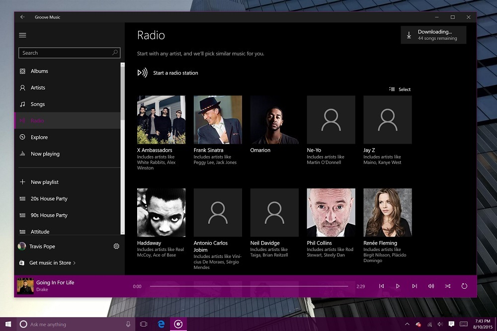 Groove Music for Windows 10 (5)