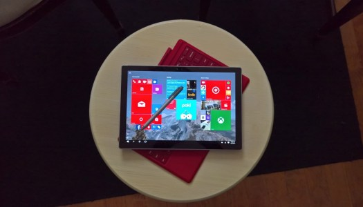 Surface Pro 4 with Core M3 in Pictures