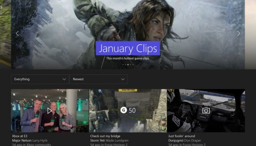 Social is the big focus of the first Xbox One update in 2016