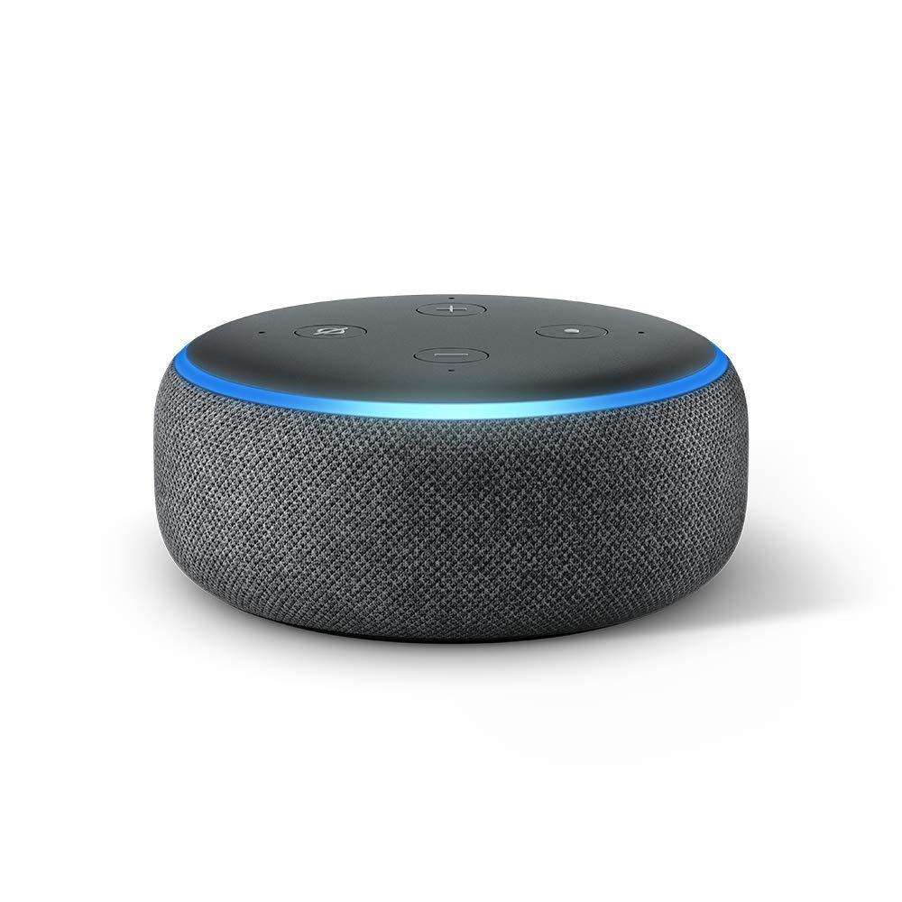 The Amazon Echo Dot.