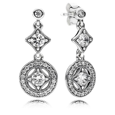 Pandora Jewelry Vintage Allure Earrings