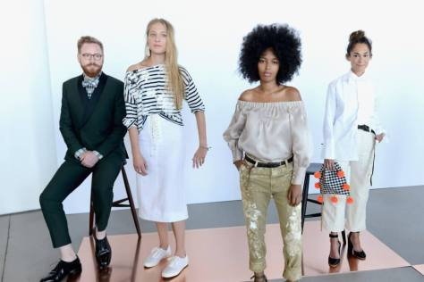 2. For its Spring/Summer '17 collection at New York Fashion Week, J.Crew didn't cast people who modeled for a living to show the clothes. Instead, the brand tapped friends and families, ages 13 to 70, to be models for the day. The ensemble consisted of artists, teachers, bartenders, athletes, and even kids.