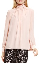 VINCE CAMUTO Ruffle Neck Blouse