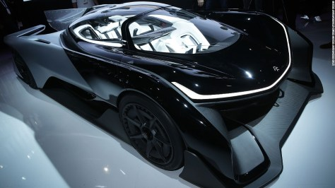 Faraday Future is investing heavily in electric cars. The striking FFZERO1 Concept car was shown off at the CES in Las Vegas in January 2016, and in October the company's team lined up on the grid for the start of the 2016-17 Formula E world championship.