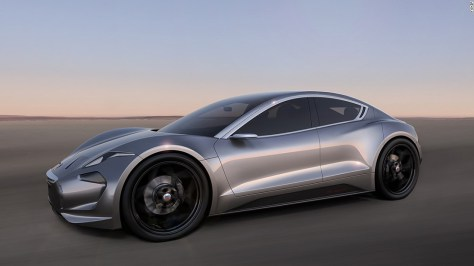 """The EMotion will feature a new electric power train layout with battery technology, constructed using graphene. The California-based automaker plans to unveil the car in <a href=""""http://henrikfisker.org/products/production-cars/fisker-emotion/"""" target=""""_blank"""">mid-2017</a>."""