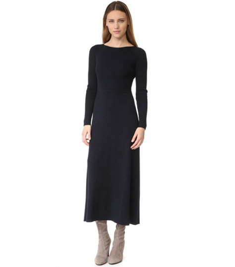 Elizabeth and James Caden Tie-Back Ribbed Dress