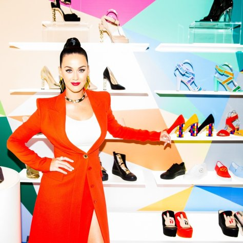 Katy Perry's Back With More Technicolor Shoes For Her Second Drop
