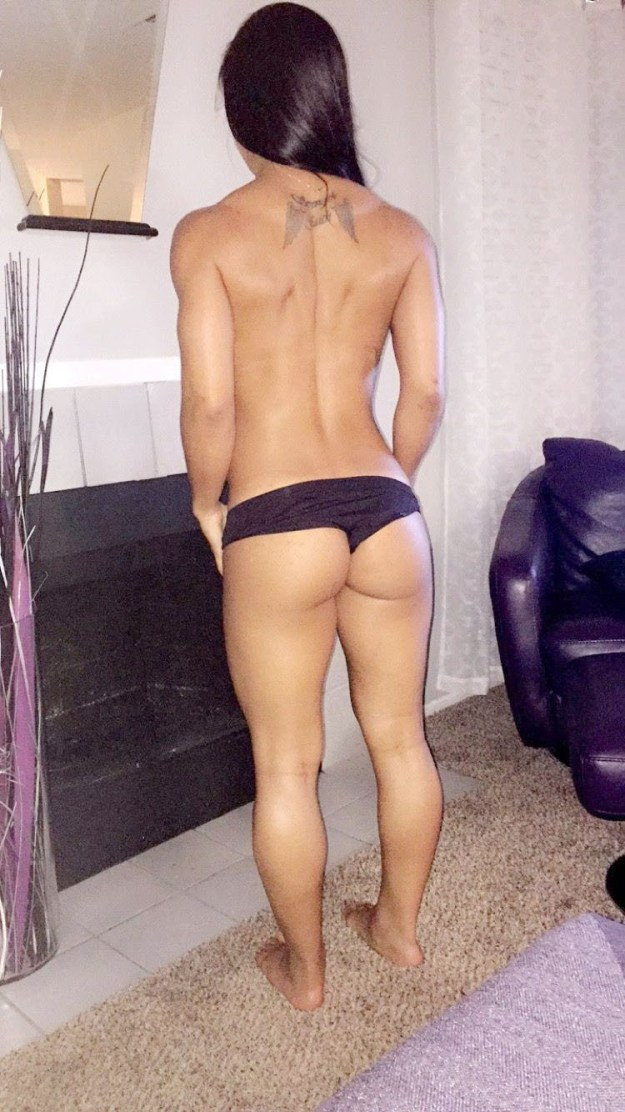 MMA Lesbian Fighter Tecia Torres Leaked Selfies  title=