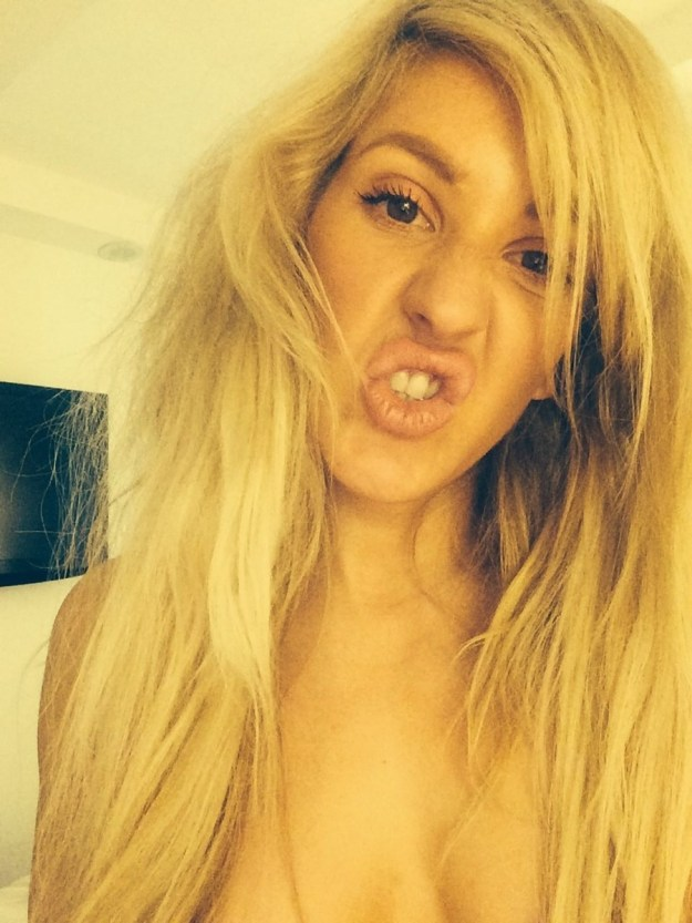 Ellie Goulding nude photos leaked