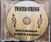 cd print in tray twisted strings