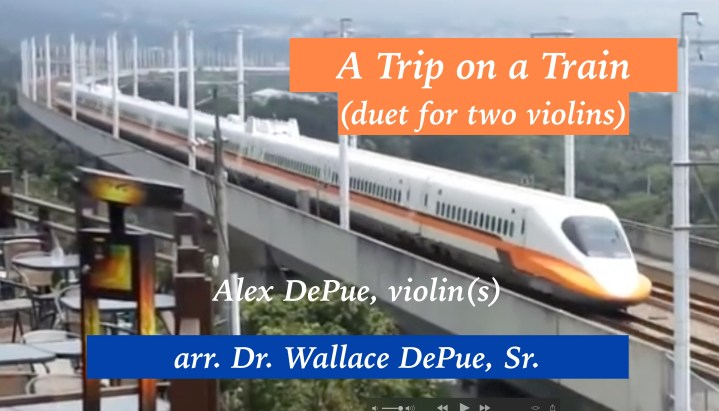 """""""A Trip on a Train"""" cover image"""