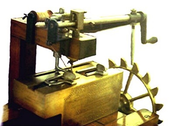 William Newton Wilson created the first-ever sewing machine