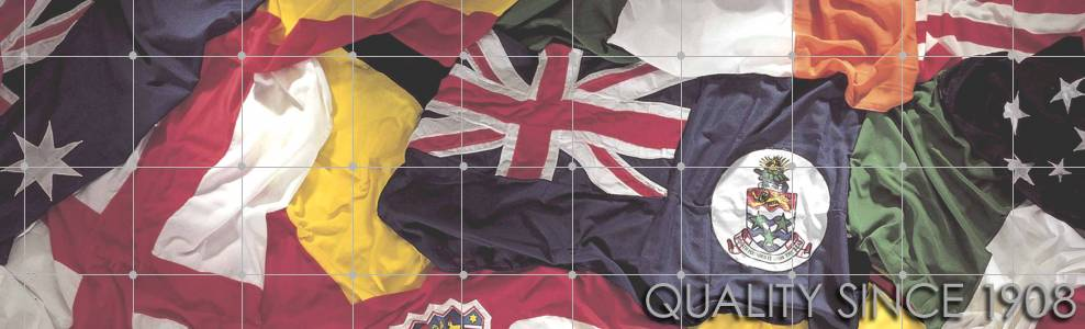 Quality Sewn national flags