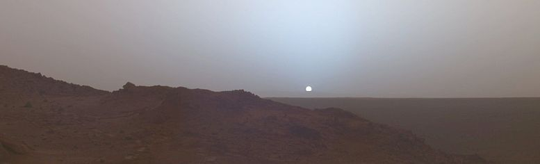Mars reality show Sunset