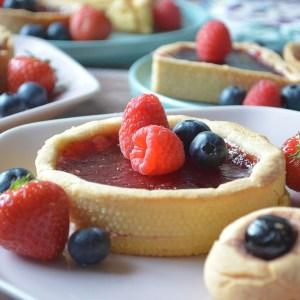 Glutenvrije taartjes – pasta frolla – Glutenvrij | Zuivelvrij