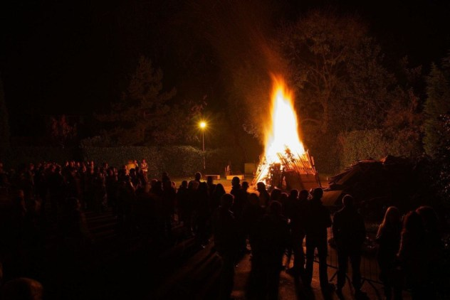 The Foresters Arms Bonfire and Fireworks Romiley, Stockport