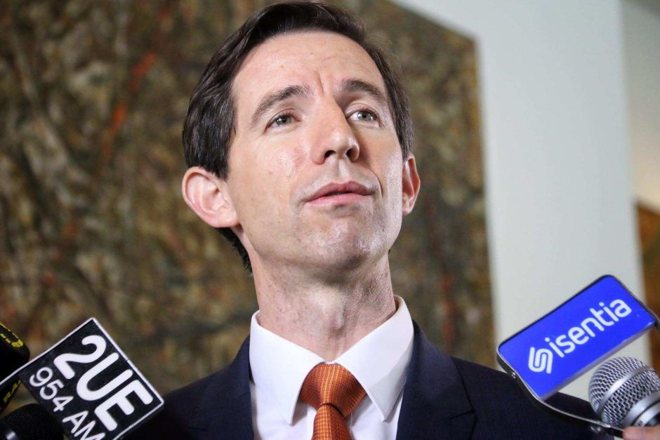 Simon Birmingham. Photo Credit: Australian Broadcasting Corporation