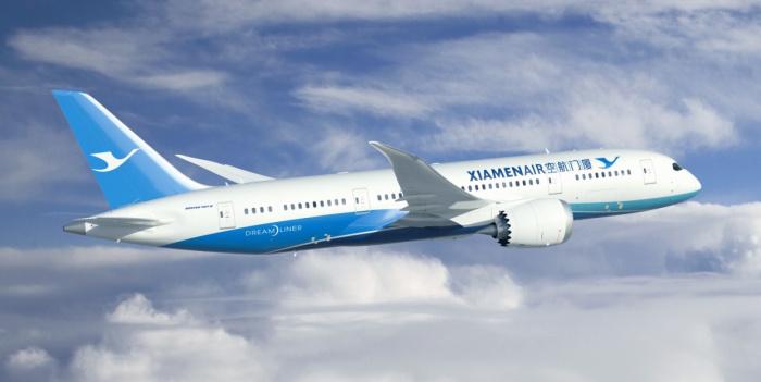 Image result for 廈門航空 787