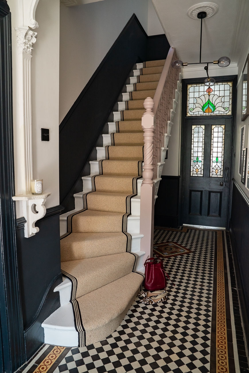 How To Achieve Your Perfect Stair Runner The Frugality | Stairway To Darkness Rug | Area | Tardis | 3 Dimensional | Floor | Scary