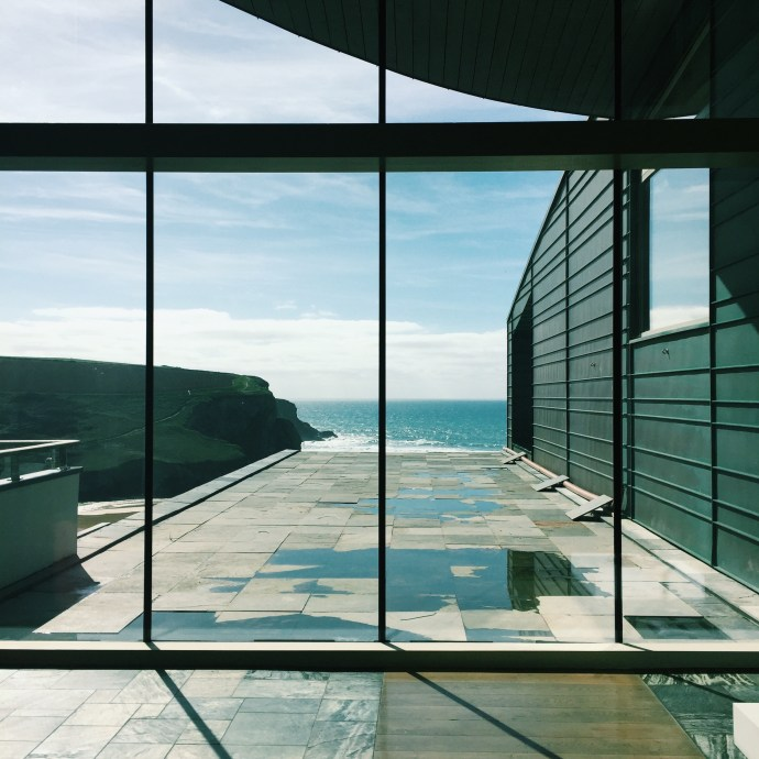 Breathtaking views of the sea at The Scarlet