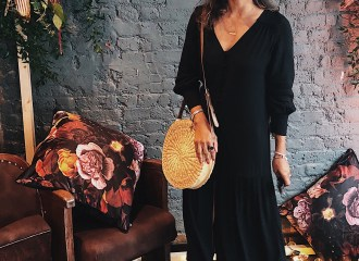 Fatima Truscott Black Summer Dress Wearing black in summer The FT Times Blog