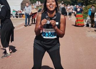 Fatima Truscott London Marathon 2020