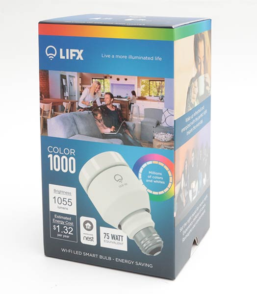 LIFX Color 1000 A19 WiFi LED smart bulb review