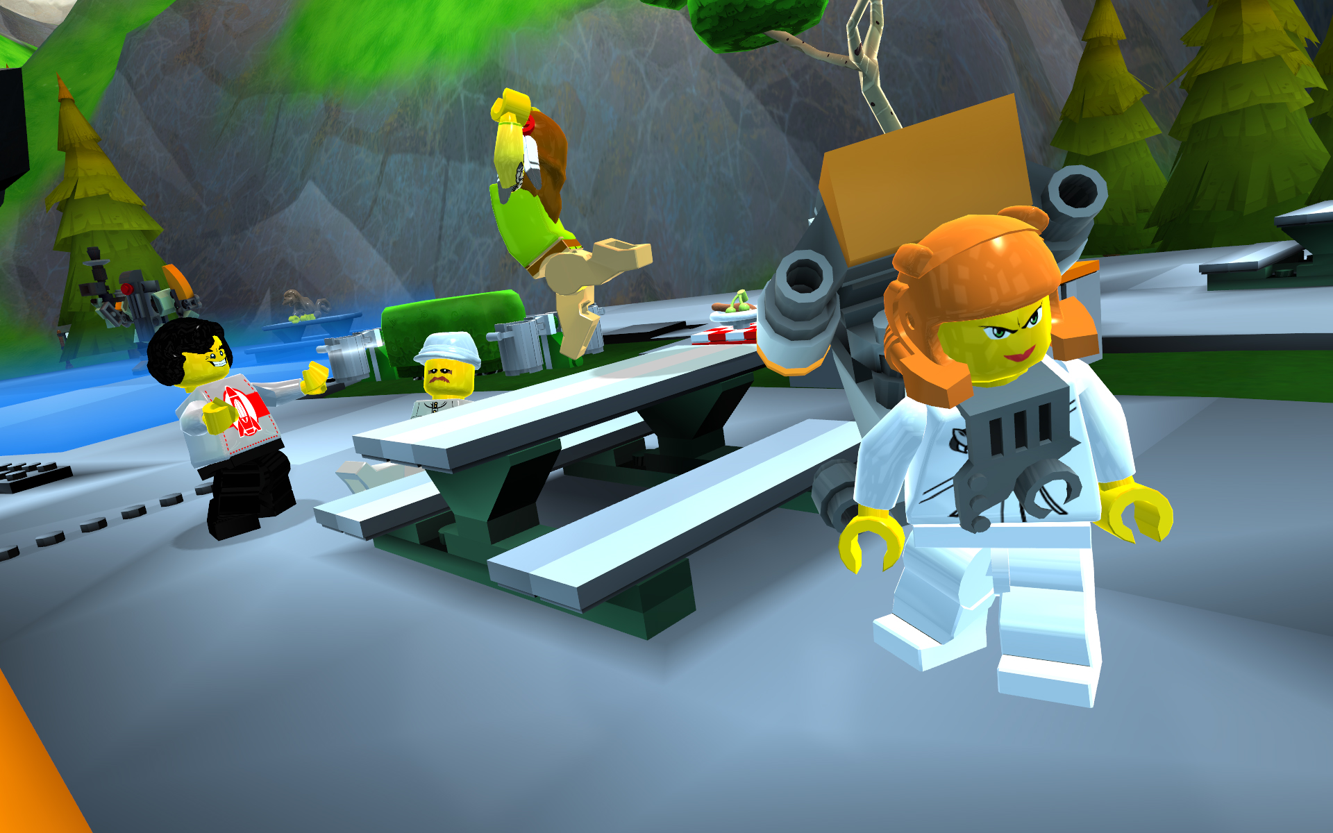 Lego Universe The Lego MMOG The GAMES Blog
