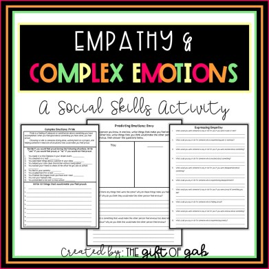 Empathy, Complex Emotions, and Emotional Intelligence Activities