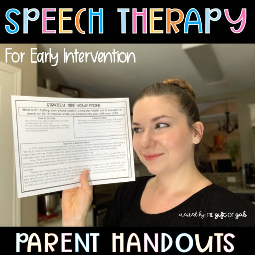 Speech therapy at home for toddlers
