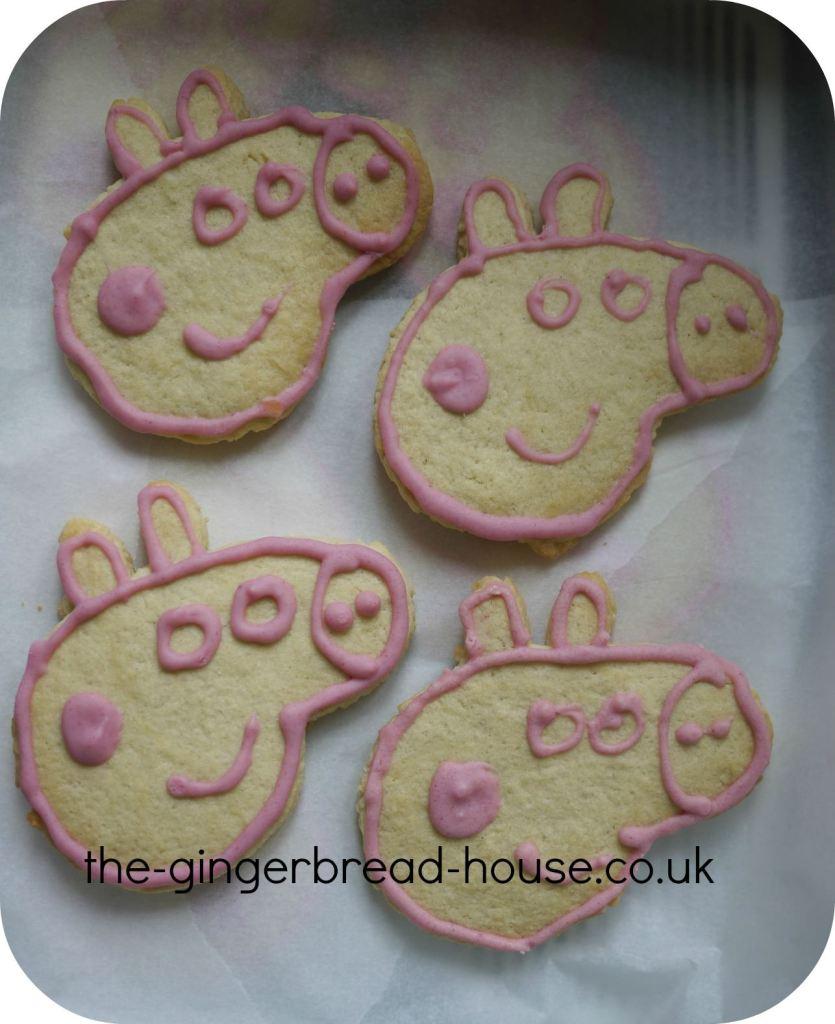 Peppa Pig biscuits