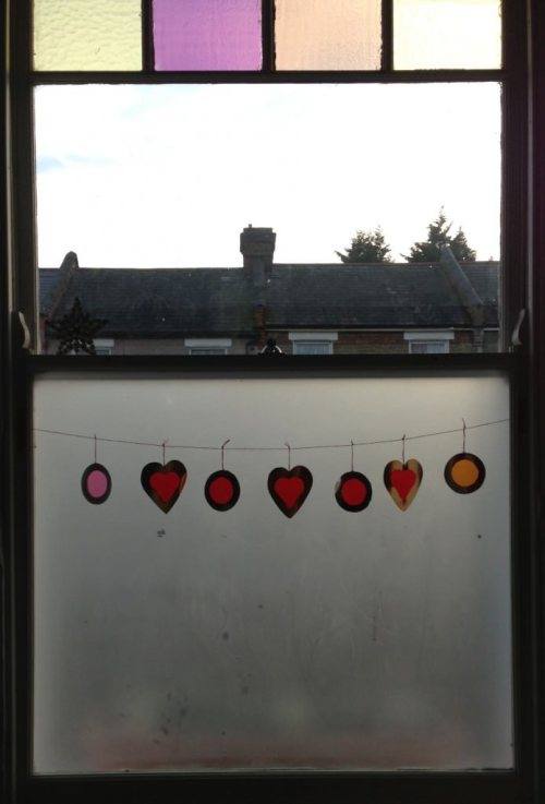 homemade sun catcher