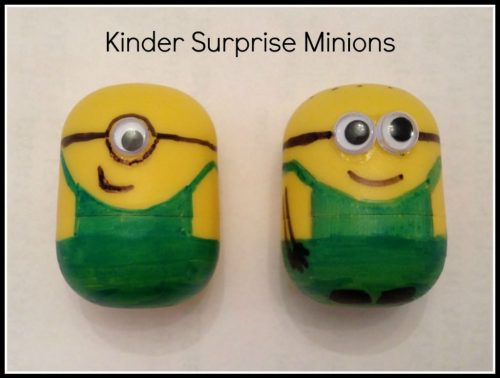 Kinder surprise minion
