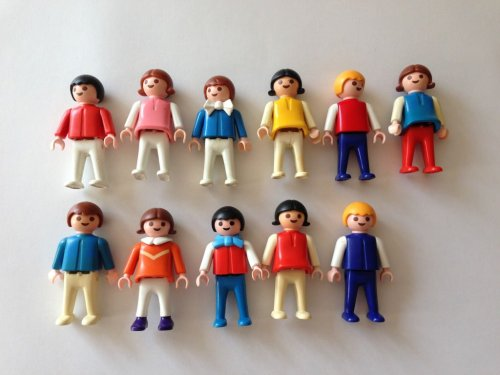 vintage playmobil figures - the gingerbread house