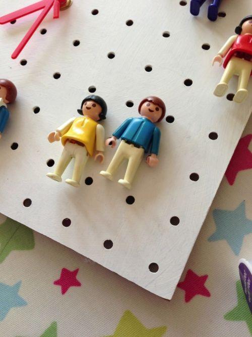 vintage Playmobil figures
