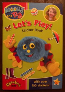 Woolly and Tig sticker book
