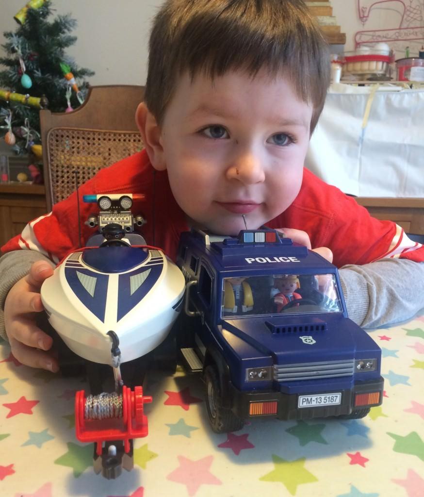 Playmobil police truck