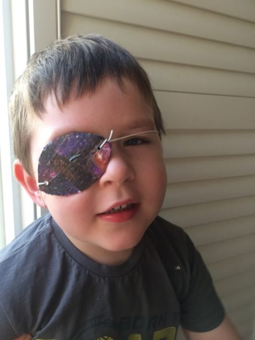 duck tape pirate eye patch