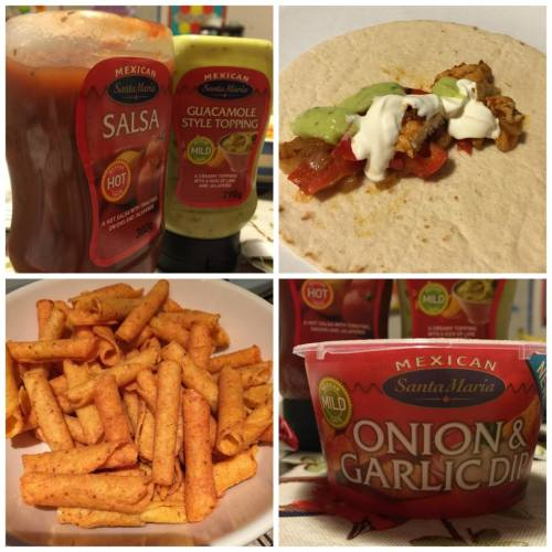 Santa Maria Mexican meal