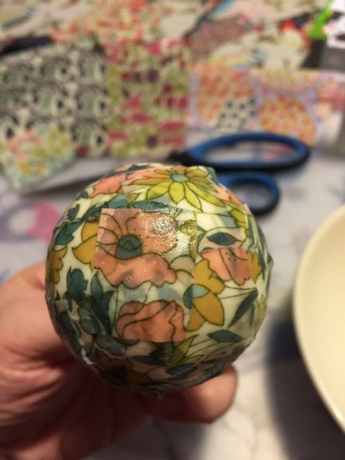 homemade liberty baubles