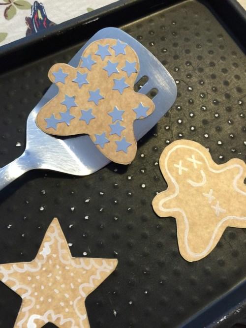 cardboard cookies