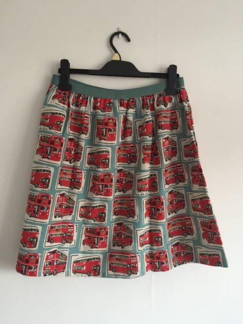 Cath Kidston bus print skirt