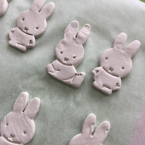 air drying clay Miffy